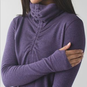 Lululemon In a Cinch Pullover Reversible Sweater 6